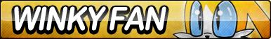 Winky Fan Button by ButtonsMaker