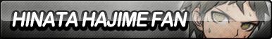 Hinata Hajime Fan Button by ButtonsMaker