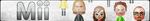 Mii Fan Button (UPDATED) by ButtonsMaker