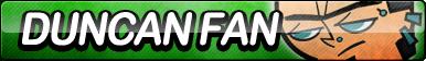 Duncan (Total Drama) Fan Button