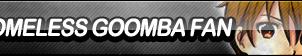 Homeless Goomba Fan Button by ButtonsMaker