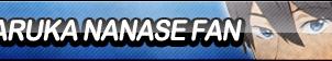 Haruka Nanase Fan Button by ButtonsMaker