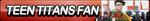 Teen Titans Fan Button by ButtonsMaker