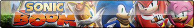 Sonic Boom (TV show 'n video game) Button by ButtonsMaker