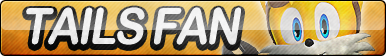 Tails (Sonic Boom) Fan Button (UPDATED)