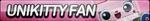 UniKitty Fan Button by ButtonsMaker