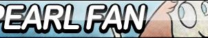 Pearl Fan Button by ButtonsMaker
