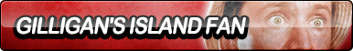 Gilligan's Island Fan Button by ButtonsMaker