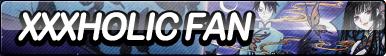 xxxHOLiC Fan Button by ButtonsMaker