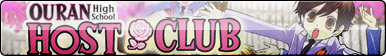 Ouran High School Host Club Fan Button