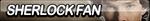 Sherlock Fan Button by ButtonsMaker