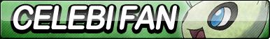 Celebi Fan Button by ButtonsMaker