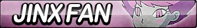 Jinx Fan Button