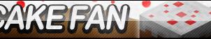 Cake (Minecraft) Fan Button by ButtonsMaker