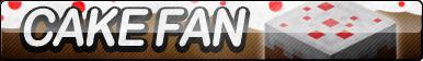 Cake (Minecraft) Fan Button
