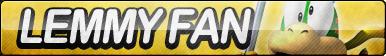 Lemmy Koopa Fan Button by ButtonsMaker