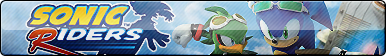 Sonic Riders Button by ButtonsMaker