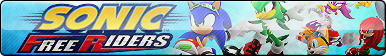 Sonic Free Riders Button