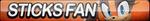 Sticks the Jungle Badger Fan Button (UPDATED) by ButtonsMaker