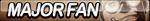 Major Fan Button by ButtonsMaker