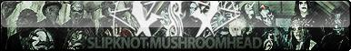 Slipknot Mushroomhead Fan Button