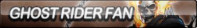 Ghost Rider Fan Button