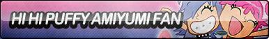 Hi Hi Puffy AmiYumi Fan Button