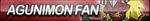 Agunimon Fan Button by ButtonsMaker