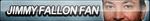 Jimmy Fallon Fan Button by ButtonsMaker