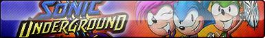 Sonic Underground Button