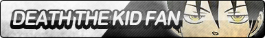 Death the Kid Fan Button