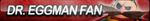 Doctor Eggman (Sonic Boom) Fan Button by ButtonsMaker