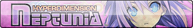 Hyper Dimension Neptunia Fan Button