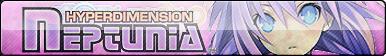 Hyper Dimension Neptunia Fan Button