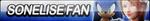 Sonelise Fan Button by ButtonsMaker