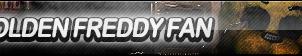 Golden Freddy Fan Button (FNaF2) by ButtonsMaker