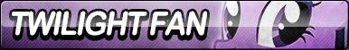 Twilight Sparkle Fan Button (Resubmit)