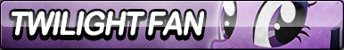 Twilight Sparkle Fan Button (Resubmit) by ButtonsMaker