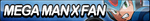 Megaman X Fan Button (Resubmit) by ButtonsMaker