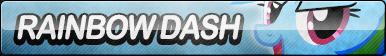 Rainbow Dash Button (Resubmit)