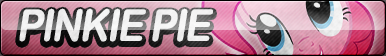 Pinkie Pie Button (Resubmit) by ButtonsMaker
