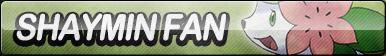 Shaymin Fan Button (Resubmit)
