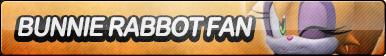 Bunnie Rabbot Fan Button (Resubmit) by ButtonsMaker