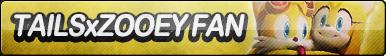 TailsxZooey Fan Button by ButtonsMaker