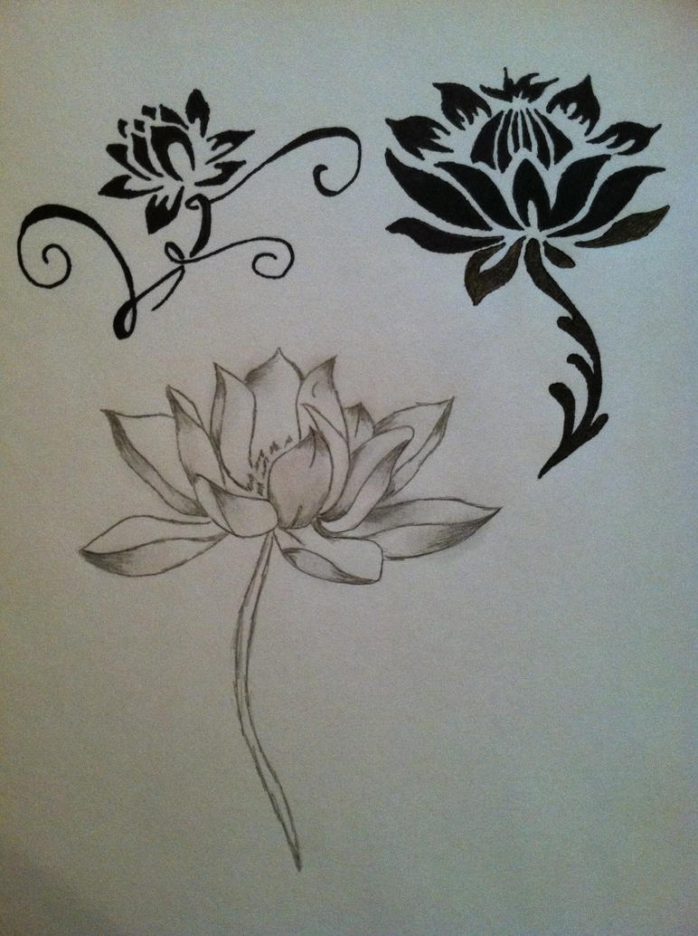 Lotus flower tattoos by jackiecipps1210 on deviantart lotus flower tattoos by jackiecipps1210 izmirmasajfo Gallery