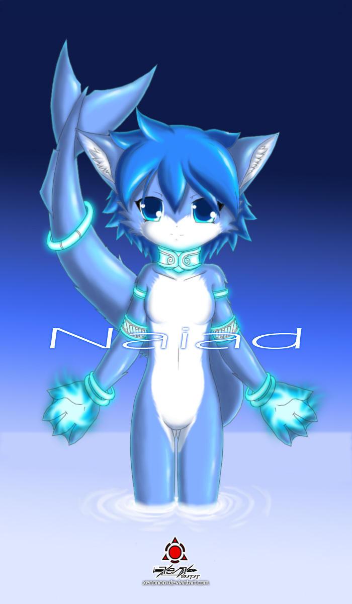 A Naiad by xenon001