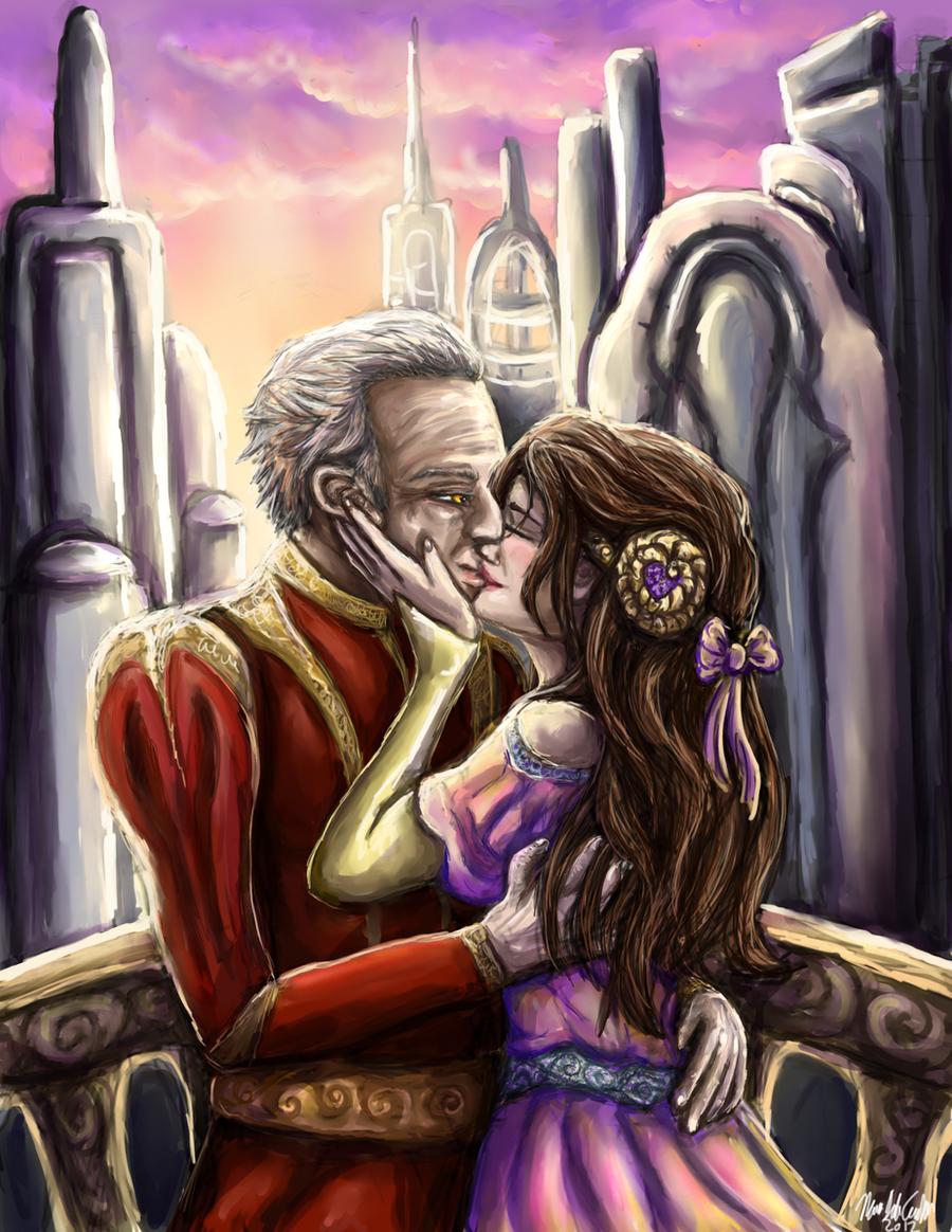 The Kiss by firedanceryote