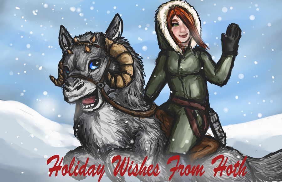 Happy Holidays by firedanceryote