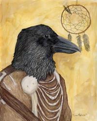 Crow Medicine by firedanceryote