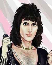 Freddie mercury 70s by kelly7497